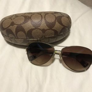 Coach sunglasses- aviators